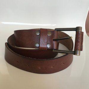 Levi's genuine leather brown belt size 38